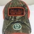 Camo Orange Hat